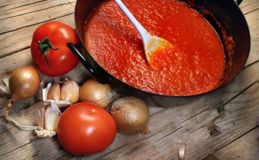 Рецепт томатного соуса для пиццы