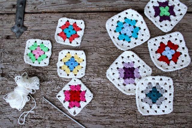 Бабушкин квадрат: как сделать корзинки и тапочки