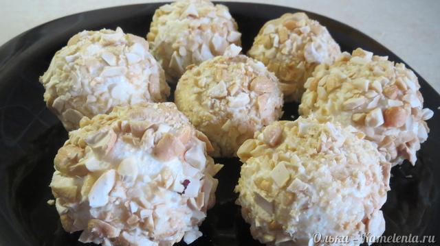 Творожные пирожные без выпечки