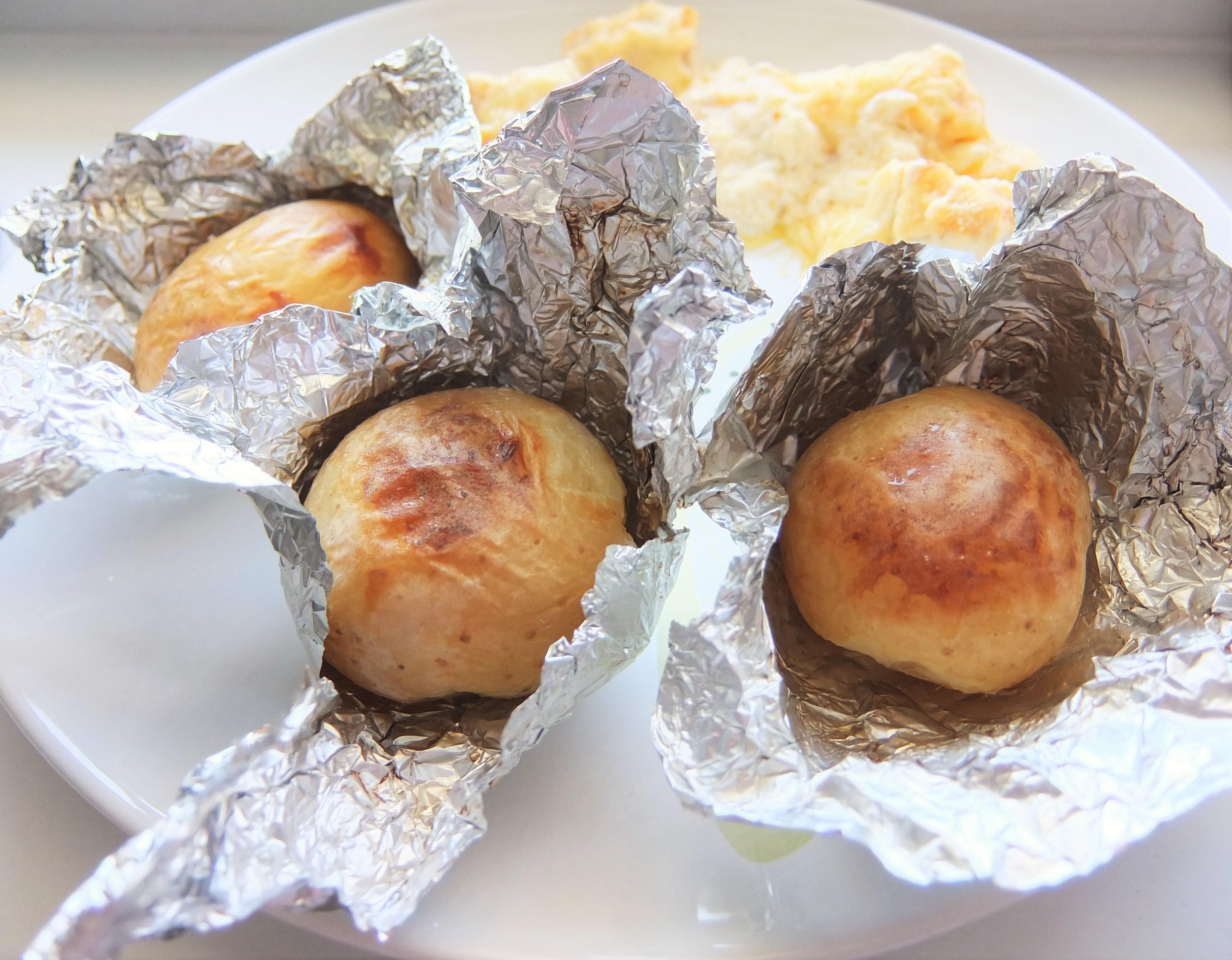 Рецепты запеченный картофель в фольге в духовке рецепт пошагово в