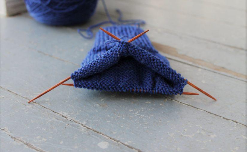 Как связать носки спицами