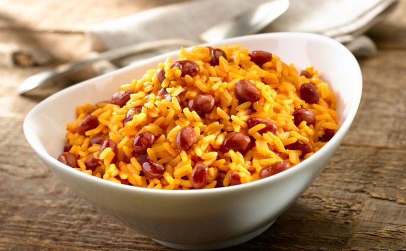 Рис с красной фасолью по-мексикански